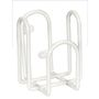 Holder til Dispenser, Abena, 9x8x10,5cm, 500 ml, hvid, metal, til Abena 500 ml flasker