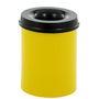 Brandhæmmende affaldsspand, 15 l, gul *Denne vare tages ikke retur*