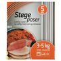 KD Stegepose, Rul-let, 10 l, klar, PET/virgin, 35x43cm