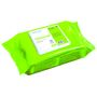 KD Universalklud, Wet Wipe, Mini, 30x20cm, grøn, viskose/PP, perforeret, engangs