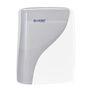 Dispenser, Lucart Identity, 13,3x30,5x38,8cm, hvid, plast, til alle typer håndklædeark *Denne vare tages ikke retur*