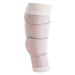 Bandage, Juzo Compression Wrap, læg, sort/ beige,  3-medium-middel