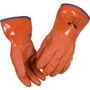 _ Vinylhandske, THOR PVC Vinter, 11, orange, PVC