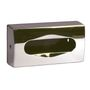 _ Dispenser, neutral, 27x14cm, krom, plast, til ansigtsservietter
