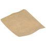 Frugtpose, 17,5x14cm, 50 g/m2, brun, papir, på snor
