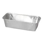 Alu-form, 18, 8x8, 8x5cm,  aluminium,  550 ml, rektangulær,  smooth wall *Denne vare tages ikke retur*
