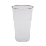 Drikkeglas,  Abena Gastro-Line,  12,2cm, Ø7,8cm, 30 cl, 35 cl, klar, PET, with a step