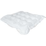 Trykaflastende pude, Levabo  All Up Universal,  50x50x8cm,  hvid