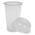 Drikkeglas,  Abena Gastro-Line,  11,7cm, Ø7,82cm, 25 cl, 30 cl, klar, PET, with a step