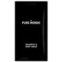 _ Shampoo- and bodywash, Pure Nordic, Ø2,5cm, 12 ml, sort, plast