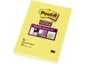POST-IT Note POST-IT Super Sticky li.102x152 gul