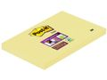 POST-IT Notes POST-IT SuperSticky 76x127mm gul