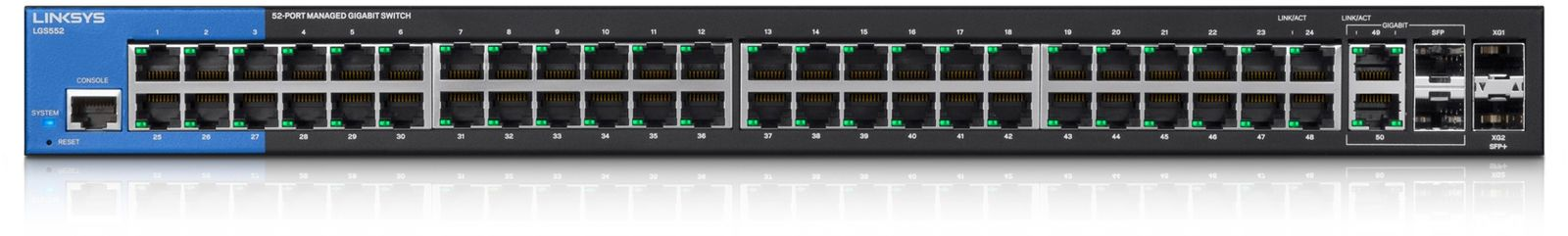 LINKSYS BY CISCO LGS552-EU Managed Switches 48-port (2 SPF