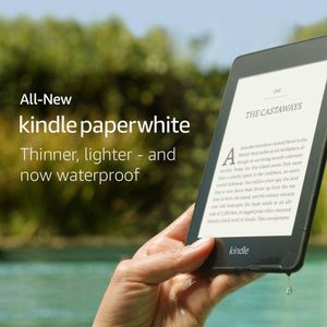 "AMAZON Kindle Paperwhite Wifi 2018 8GB 8GB, 6"" Touch, 300 ppi, sort (B07747FR44)"
