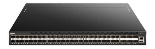 D-LINK 48 x 10G SFP+ ports with 6 x 40G QSFP+ ports Fully Managed L3 10GbE Switch (DXS-5000-54S/SI)