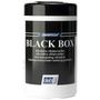 _ Renseserviet, Deb Black Box, 24x24cm, Ø13cm, hvid, nonwoven, dispenser box, 50 stk., engangs