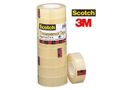 SCOTCH Kontortape SCOTCH 550 transp. 33mx19mm