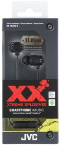 JVC HA-FR202-B-E X XTREME XPLOSIVES In-Ear remote+microph. Black - qty 1 (HA-FR202-B-E)