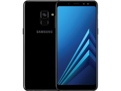 SAMSUNG Galaxy A8 (2018) Enterprise Edition 32GB Dual-SIM Midnat sort (SM-A530FZKDE31)