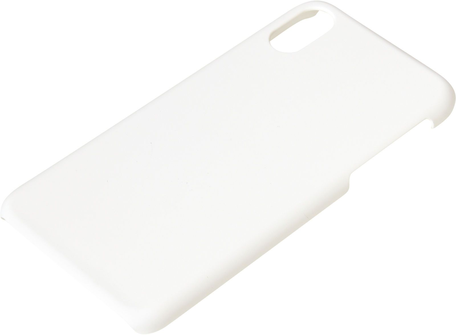 Sandberg Hard - Baksidedeksel for mobiltelefon - hvit - for Apple iPhone X (406-33)