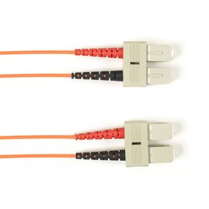 BLACK BOX FO Patch Cable Col Multi-m OM2 - Orange SC-SC 25m Factory Sealed (FOLZH50-025M-SCSC-OR)