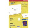 AVERY White Parcelling Labels For Inkjet 99.1x67.7mm 8 Labels/Sheets **25-pack**
