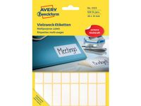 AVERY Labels White   (3323)