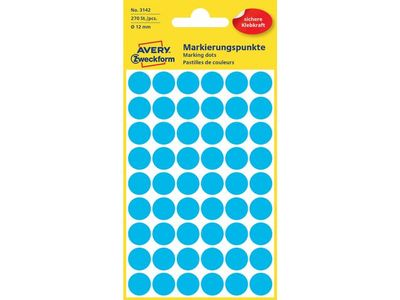 AVERY Labels Blue   (3142)