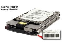 "HP HDD 9GB - 80PIN - 1"" (104665-001)"