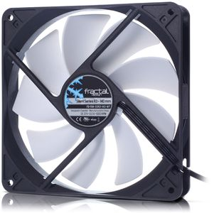 FRACTAL DESIGN 140mm Silent Series R3 (FD-FAN-SSR3-140-WT)