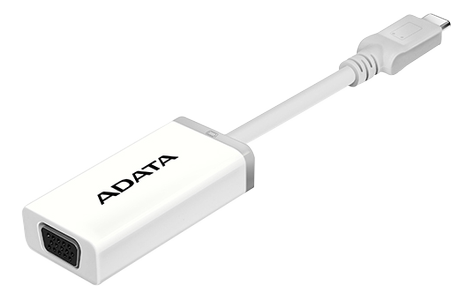 A-DATA ADATA Adapter USB-C to VGA (ACVGAPL-ADP-CWH)
