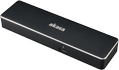 AKASA Affinity TB3, Dual 4K Thunderbolt™ 3 dock with PD 87W, black