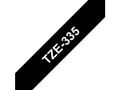 BROTHER TZe tape 12mmx8m white/ black