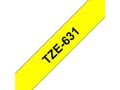 BROTHER TZe tape 12mmx8m black/ yellow