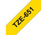 BROTHER Tape BROTHER TZe-651 24mmx8m sort/gul