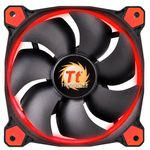 THERMALTAKE Riing 12, 120mm LED-Lüfter - rot (CL-F038-PL12RE-A)