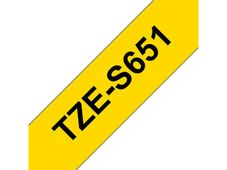 BROTHER TZe tape 24mmx8m strong black/ yellow