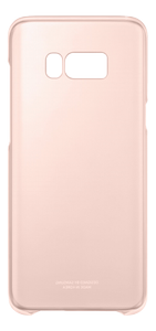 SAMSUNG QG955CPE Clear Cover for Galaxy S8 Plus Pink (EF-QG955CPEGWW)