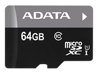 A-DATA 64GB UHS-I CL10 A1 V10 (AUSDX64GUICL10A1-RA1)