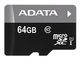 A-DATA ADATA 64GB Micro SDXC V10 85MB/s + adapter