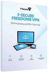 F-SECURE Freedome VPN 5-Devices 1 year (FCFDBR1N005E2)