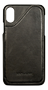 Nic & Mel Corey, case with card slots, iPhone X/XS, black leather