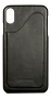 Nic & Mel Corey, case with card slots, iPhone XS Max, black leather