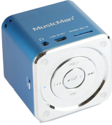 TECHNAXX Mini MusicMan Soundstation blue