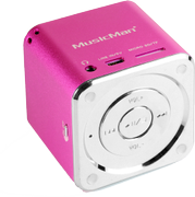 TECHNAXX Mini MusicMan Soundstation pink
