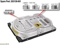 HP HDD 10GB 5400RPM QUIET (203139-001)