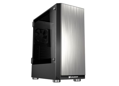 COUGAR Case Trofeo Mid tower Temp. glass trans. side window 1x120mm fan (385AMA0.0001)