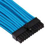 CORSAIR Premium Individually Sleeved PSU Cable Pro Kit_ Type 4 (Generation 4)_ BLUE (CP-8920225)