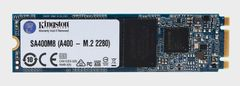KINGSTON SSD M.2 120GB Kingston 2280 A400 500/320, TLC, 40TBW