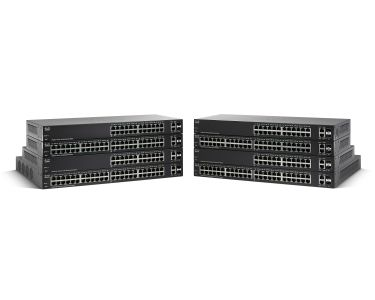 CISCO SG220-26P 26-Port Gigabit PoE Smart Plus Switch (SG220-26P-K9-EU)